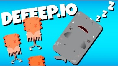The Amazing Sleeper Shark! - Deeeep.io Gameplay