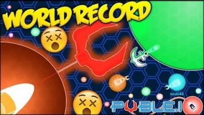 THE BIGGEST HOOK EVER IN PUBLE.IO!!! NEW WORLD RECORD? ⭐ BRAND NEW IO (Puble.io)