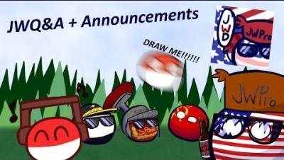 The JWQ&A + Important Channel/Discord Announcements