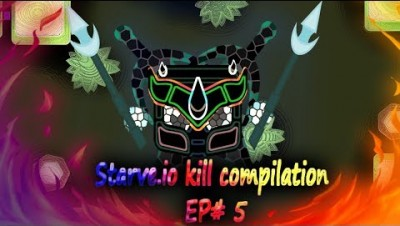 (The king is back) Starve.io kill compilation EP# 5