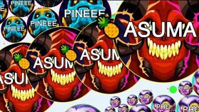 The Most INSANE FANIX.IO Destruction! Gameplay with @Pine (Game Like Agar.io)