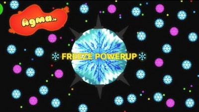 The most UNDERRATED powerup: FREEZE ENEMIES   Agma.io