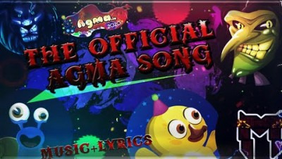 THE OFFICIAL AGMA.IO SONG (music video + lyrics) feat. Happy?