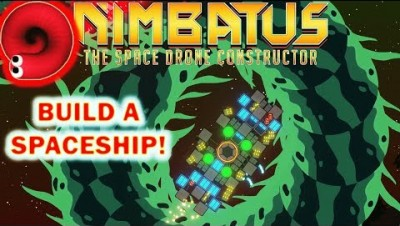 The Slither.io Resemblance is Real! - Nimbatus: The Space Drone Constructor (Building a Spaceship)