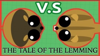 The Tale of the Lemming: a mope.io video