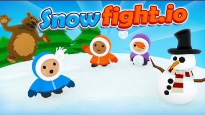 Time to Snowfight.io!