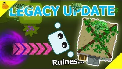 TIMEPORTAL TO LEGACY MODE UPDATE! (Starve.io New Mode Update)