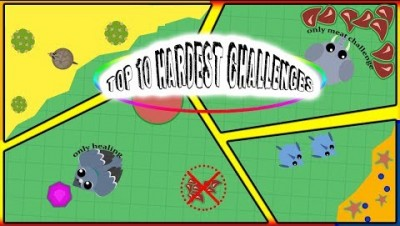 Top 10 Hardest Challenges to try in mope.io