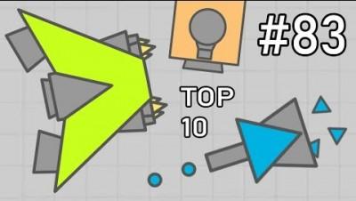 TOP 10 NEW DIEP.IO TANKS (FTB #83)