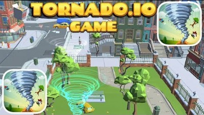 TORNADO.IO GAME GAMEPLAY AND FIRST HIGHSCORE (iOS)