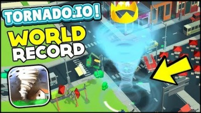 TORNADO.IO .Tornado io игра. WORLD RECORD . STRATEGY.