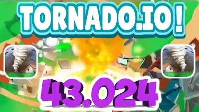TORNADO.IO WORLD RECORD GAMEPLAY (43.024)