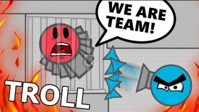 TRAPPING and BETRAYING TEAMERS TROLL DIEP.IO! (Diep.io Trolling)