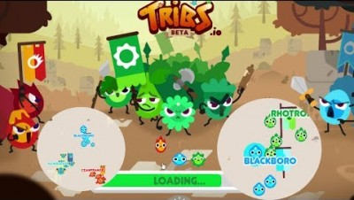 TRIBS.IO - New Game & Survival & Tribes Battle