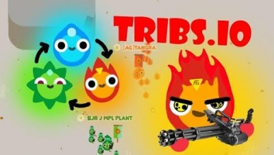 Tribs.io New Io Game Fire Tribe Gameplay