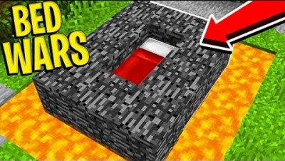 TROLLING NOOB PLAYERS IN BED WARS - MINECRAFT BED WARS