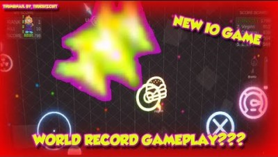 TRON.IO [WORLD RECORD GAMEPLAY] MAX LEVEL ∞ NEW IOS/ANDROID/ IO GAME