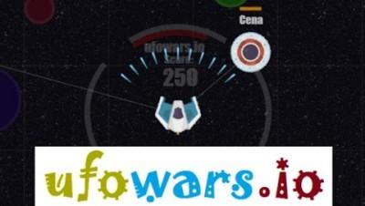 Ufowars.io gameplay