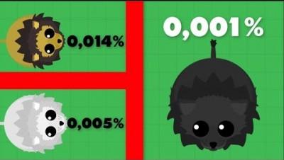 ULTRA RARE BLACK LION - Mope.io Rare LIONS - Mope.io Update