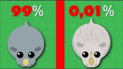 ULTRA RARE WHITE RHINO - Mope.io New Rare Animal Update
