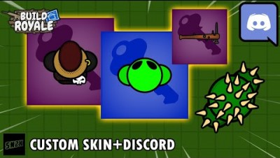 (Unofficial) Custom Skins+Discord || BuildRoyale.io