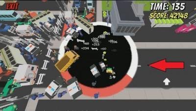 Void.io [Hole.io] Map Control: 100.00% - Big Hole
