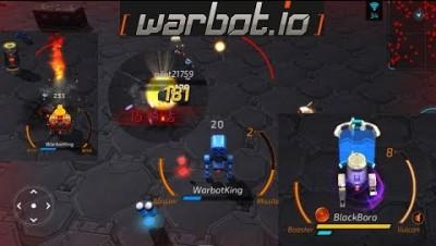 WARBOT.IO - Robots Battle & Upgrades & Epic Gameplay & Rank no.1