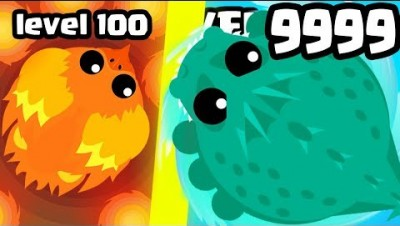 WHICH MOST OVERPOWERED LEVEL MONSTER EVOLUTION IS THE STRONGEST? (9999+ HIGH LEVEL) l Mope.io Update