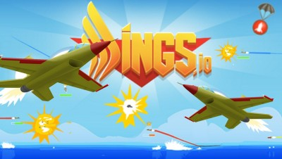 Wings.io - How to Get Flags? New Addicting Massive Multiplayer Online Shooting Game!