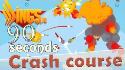 Wings.io in 90 seconds! ( Tip & Tricks included ) | #Random.io Crash Course 14 | Wingsio