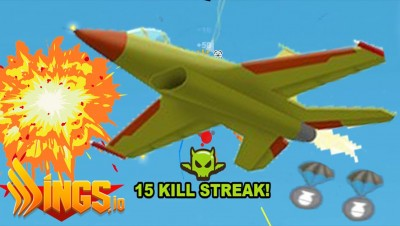 Wings.io - New Killer Weapon ! Aerial bomb ! Multiplayer Online Plane Shooting Games