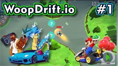 Woopdrift.io - BATALHA ESTILO MARIO KART - Gameplay #1