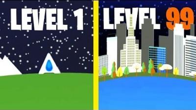 WORLDS BIGGEST COLONY! // MicroGravity.io *NEW .IO GAME*