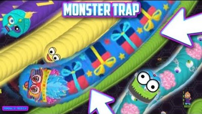 WORLD'S BIGGEST MONSTER WORM VS 999999 TINY ZOMBIE WORMS [ WORMATE.IO ] TIPS TRICKS STRATEGY IO GAME