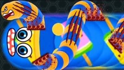 Wormate.io Immortal Snake HACK? Best Trolling Giant Snake In Wormateio Epic Gameplay!