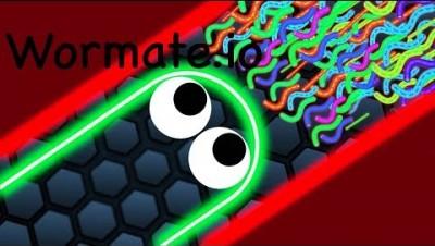 Wormate.io Как надо играть в Wormate.io)