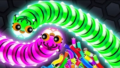 Wormax.io - BOSS WORM SET THE WORLD RECORD! // Epic Slitherio Gameplay (Wormaxio Funny Moments)