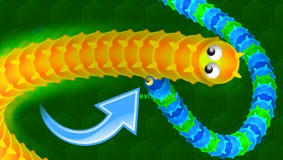 Wormax.io Funny Troll Biggest WORM New .iO Game Like Slither.io!