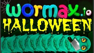 Wormax.io Halloween Special 2017 // Halloween Worm Hack // Epic Wormaxio Gameplay(Best of Wormax.io)