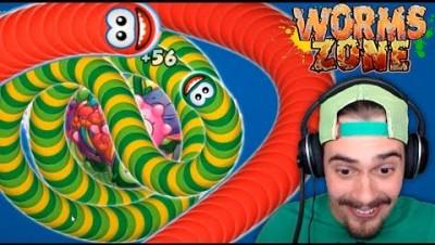 Worms.Zone - NOVO WORMATE.IO ‹ AbooT ›