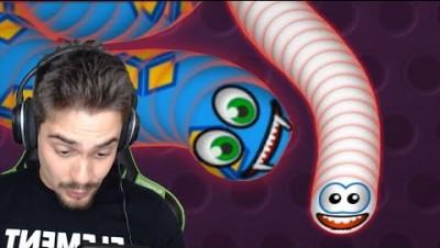 Worms.Zone - SLITHER DE MINHOCAS FELIZES ATUALIZOU!! ‹ AbooT ›