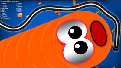 WormsZone.io 1,650,000+ Score Epic Worms Zone io Best Gameplay! #18