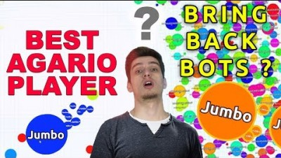 Would You Bring Back BOTS IN AGAR.IO ?!!