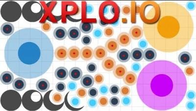 Xplo.io - Grenade & Mines: An Agar.io Battlefield (12K)