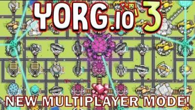 YORG.io 3 - New Multiplayer Mode & New Look! (YORG.io)
