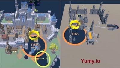 Yumy.io (Hole.io) - New Maps [World Record]