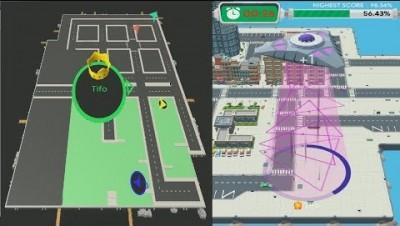 Yumy.io Vs Ufo.io WORLD RECORD - Map Control