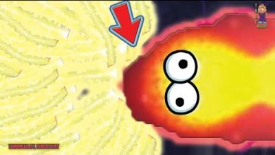 ZAPPER.IO | BIG KING ZAPPER SNAKE [HIGH SCORE] TOP 01 EPIC ZAPPERIO GAMEPLAY | WORMSZONE.IO 2.0?!?!?