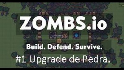 Zombs.io #1 Upgrade de Pedra.