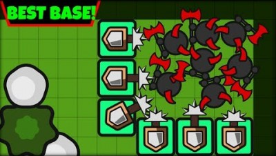 ZOMBS.IO BEST BASE EVER! | 4 PLAYER BASE | ZOMBS.IO AFK BASE (zombs.io update)